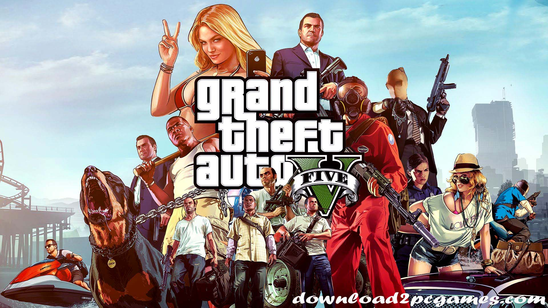 Grand Theft Auto V PC Game Free Download - Reloaded