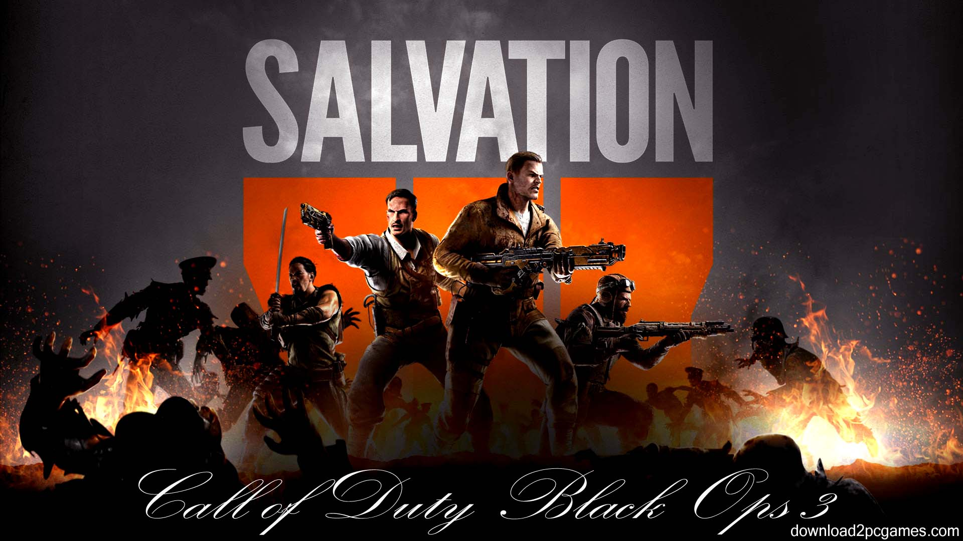Call of Duty Black Ops 3 Salvation PC Game Free Download - Reloaded