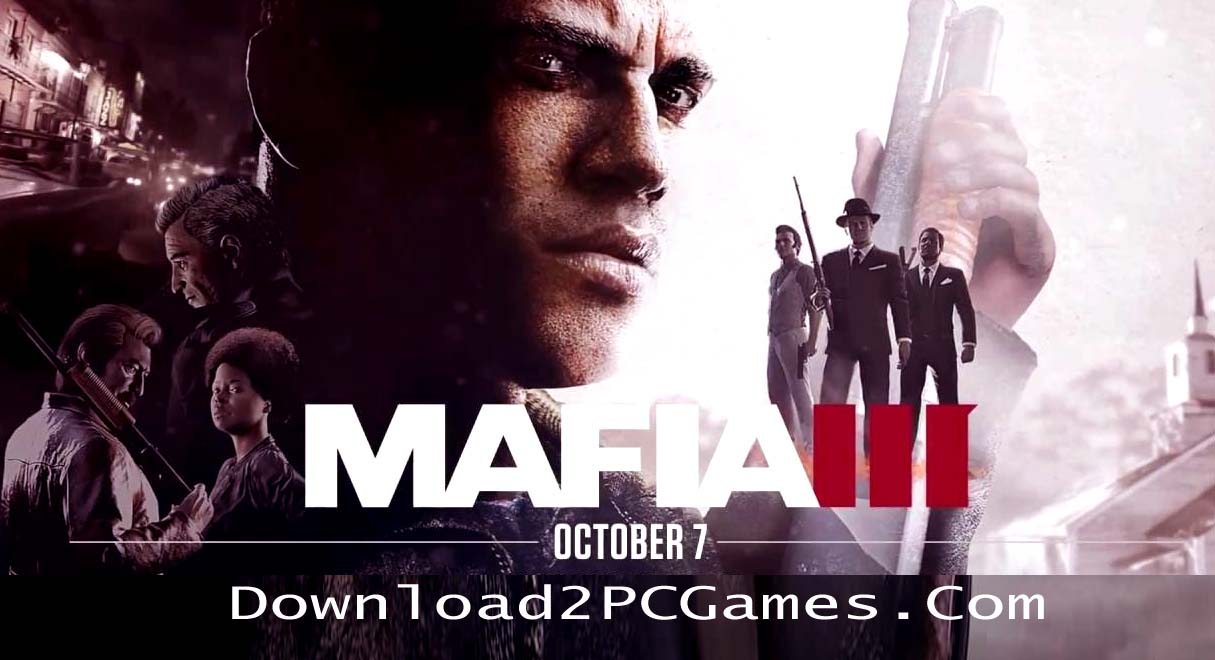 Mafia III PC Game Free Download Full Codex