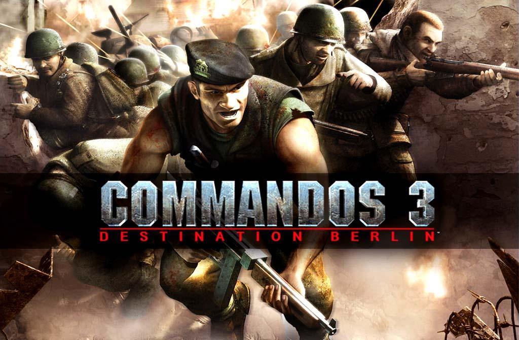 Commandos 3 Destination Berlin PC Game Free Download