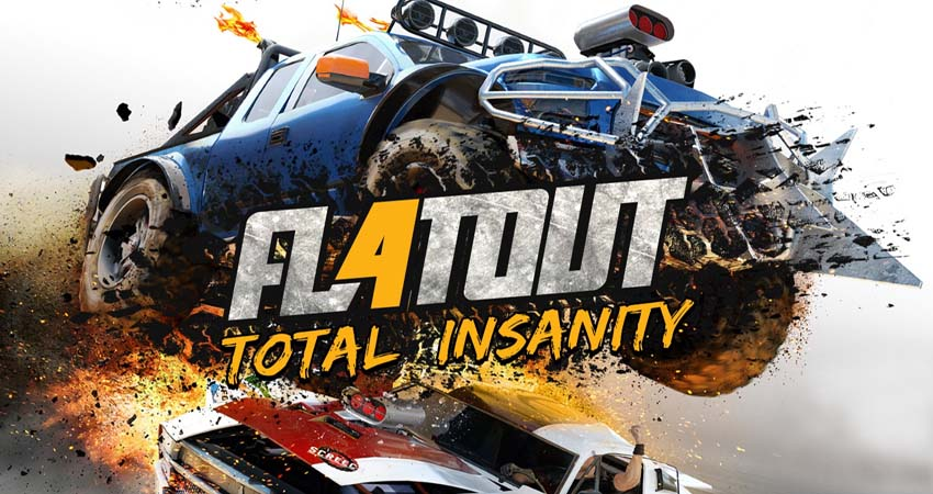 Flatout 4 Total Insanity PC Game Free Download - Codex