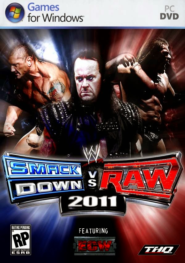 WWE Smackdown vs Raw 2011 For PC Free Download Game Full Version