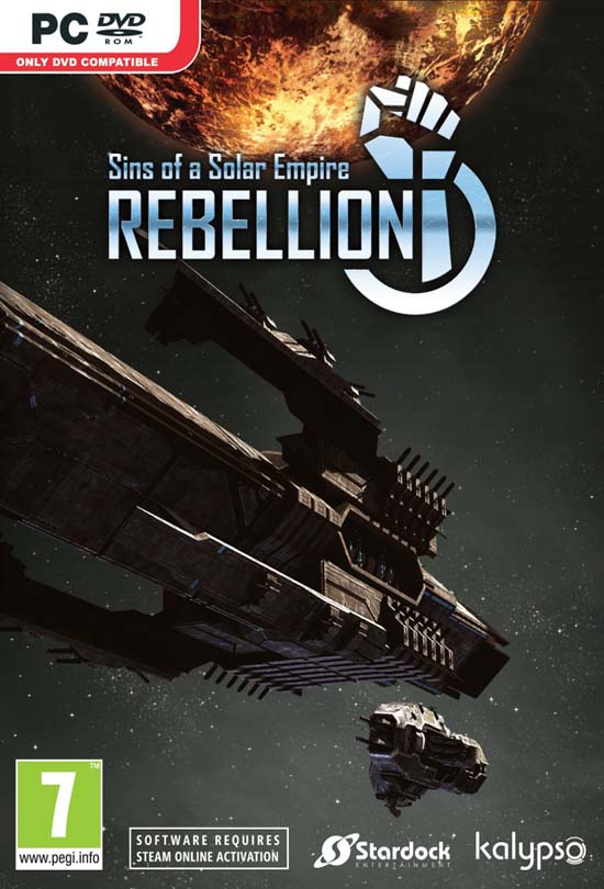 Sins of a Solar Empire Rebellion PC Game Free Download Full Version- Reloaded